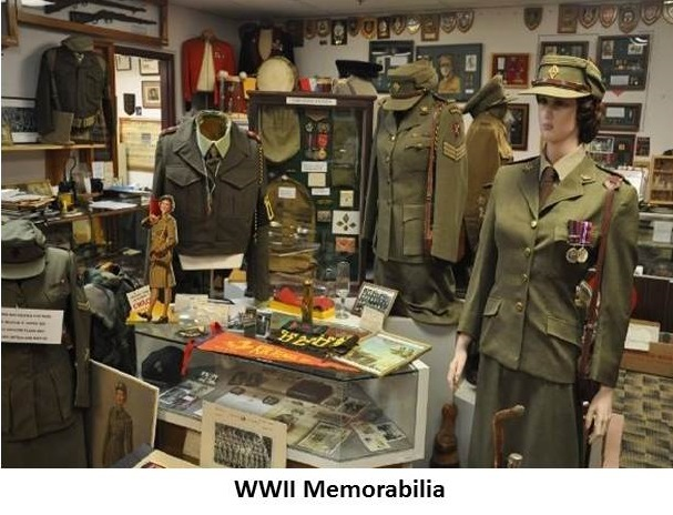 WWII Memorbelia