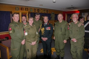 AAM Historical Vehicle Team with Surgeon General, BGen Colin McKay