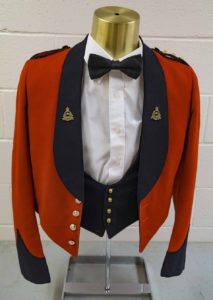 Pre War shawl collar with Royal Canadian Pay Corps collar and Captain ranks insignia